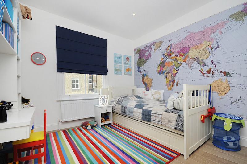 papel-de-parede-quarto-infantil-mapa-mundi