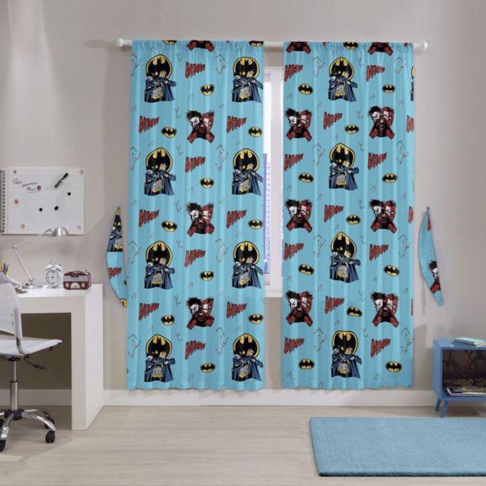 cortinas-para-quarto-de-bebê-batman
