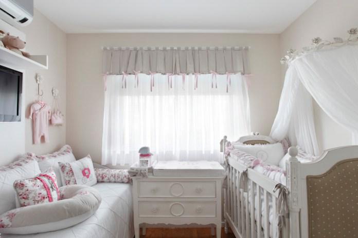 cortinas-para-quarto-de-bebê-branca