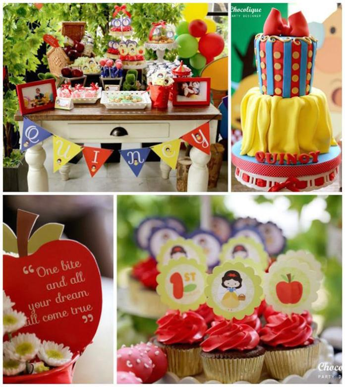 festa-branca-de-neve-cupcakes