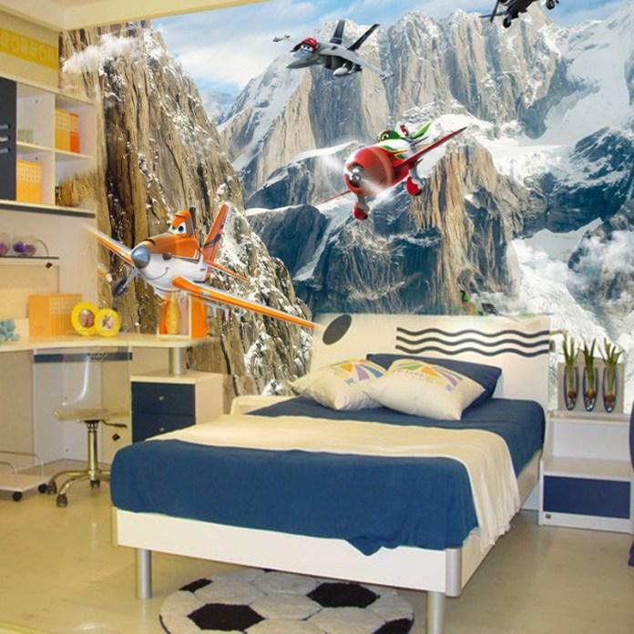 quarto-infantil-aviões-