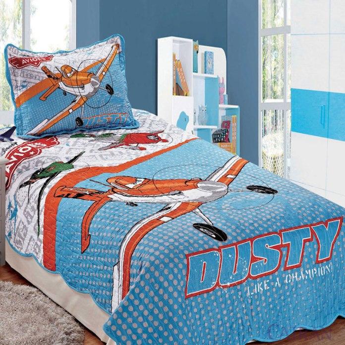 quarto-infantil-aviões-jogo-de-cama