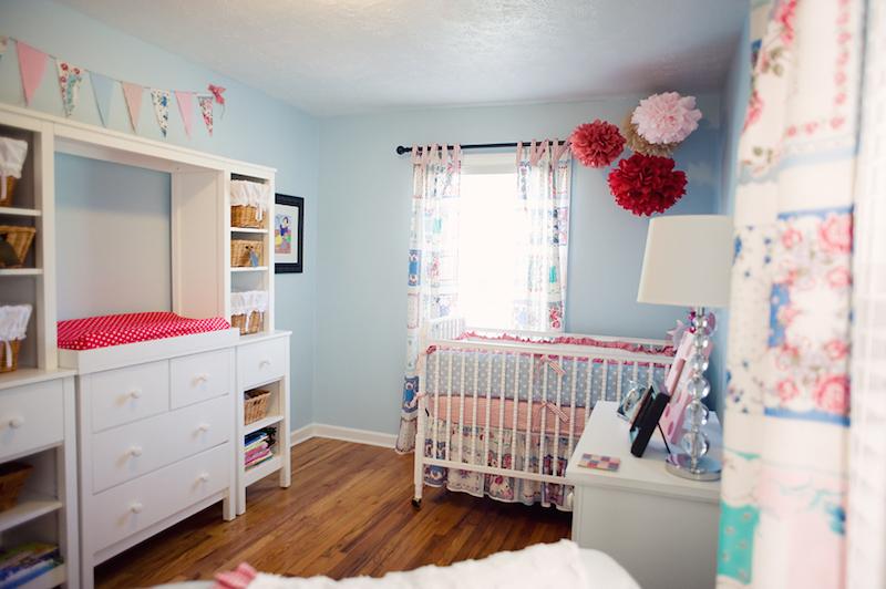 Quarto Azul para bebês, crianças e adolescentes ~ Quarto Rosa Forte