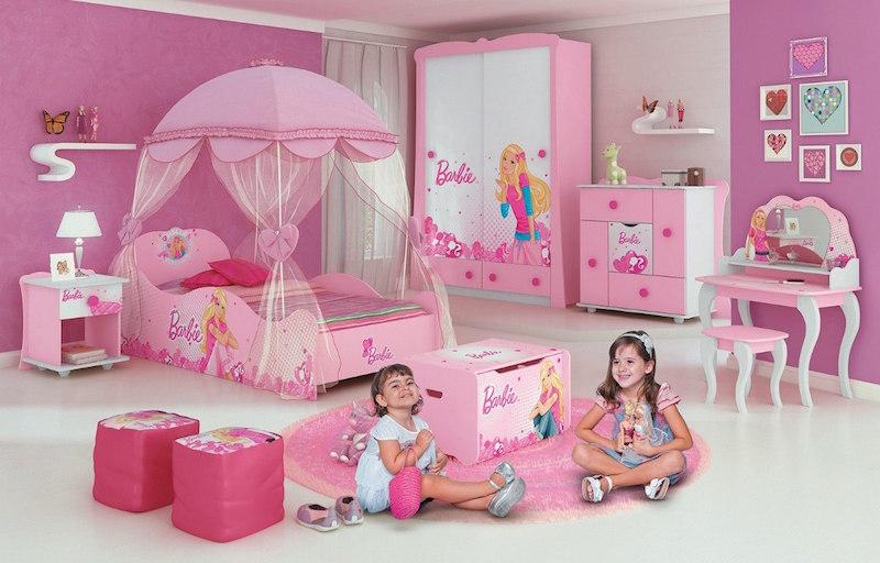 Dicas de decoração para um Quarto Barbie! ~ Quarto Rosa Forte
