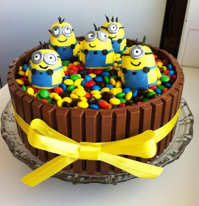 festa-infantil-minions-bolo