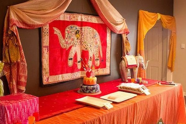 festa infantil primavera india elefante