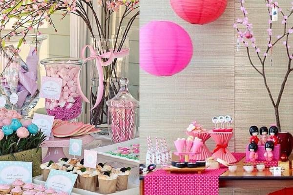 festa infantil primavera japonesa