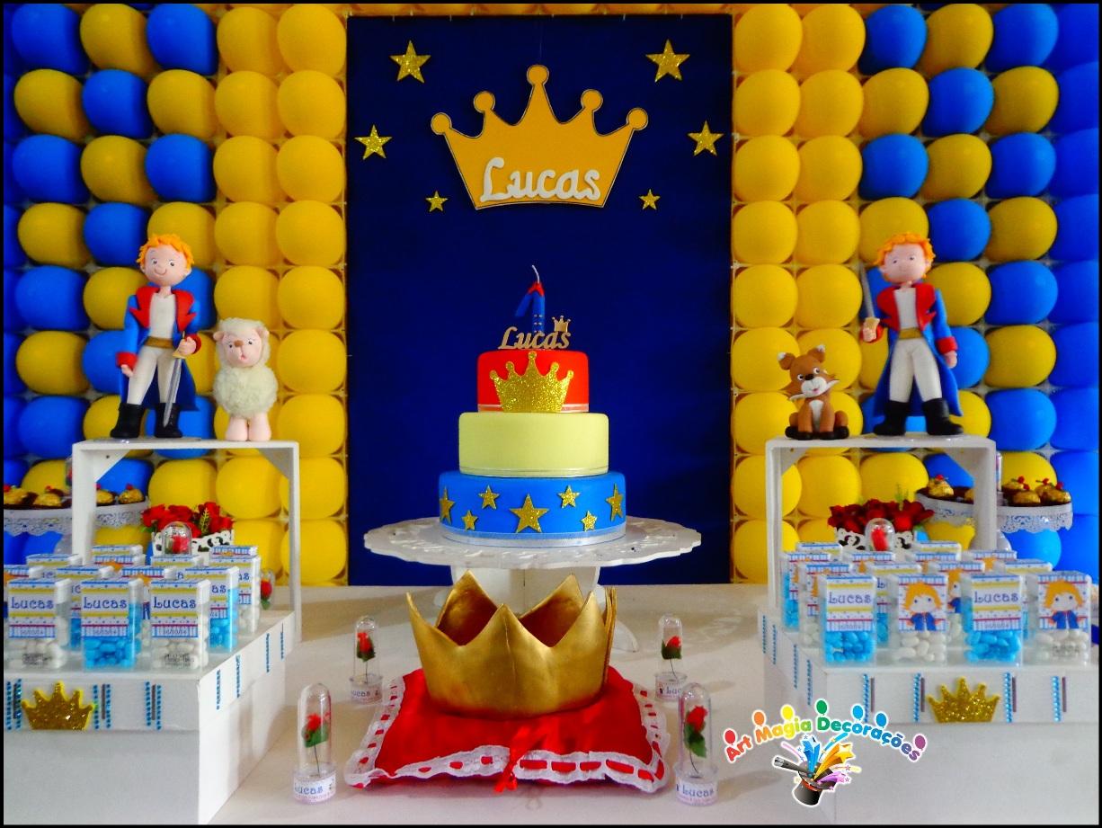 Como fazer uma festa pequeno pr ncipe for Decoracion infantil barata