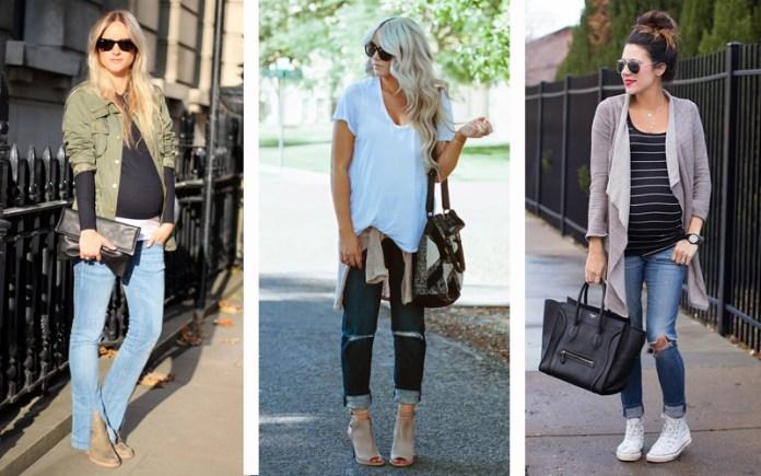 moda-gestante-jeans
