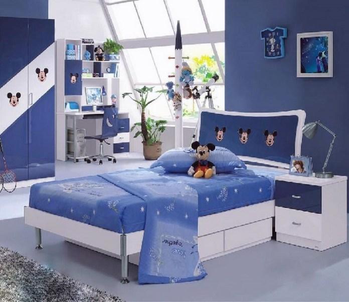 quarto-infantil-azul-mickey