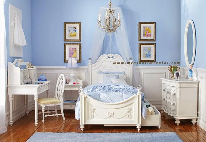 quarto-infantil-azul-princesa