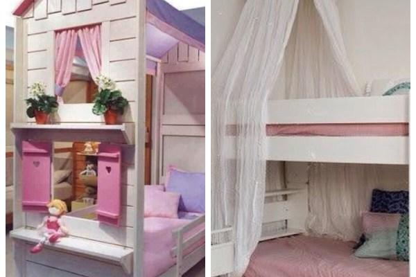 quarto infantil camas divertidas montessori