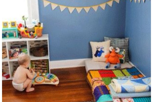 quarto infantil camas divertidas montessori_