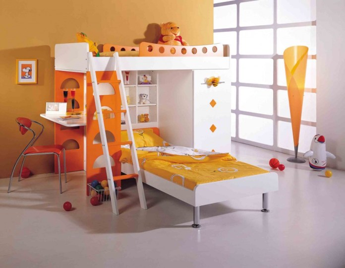 quarto-infantil-laranja