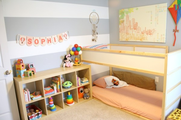 quarto montessori cama