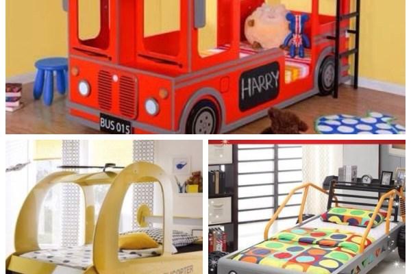 quartos infantis camas veículos