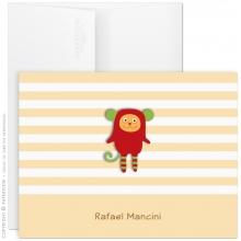 cartão de aniversário personalizado