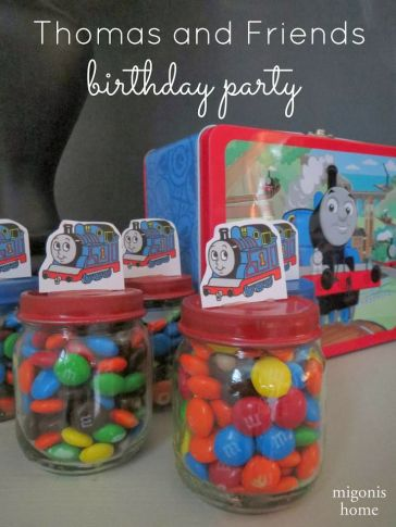 festa infantil thomas e seus amigos lembrancinhas