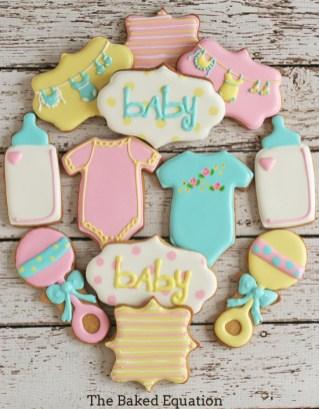 lembrancinhas chá de bebê biscoitos