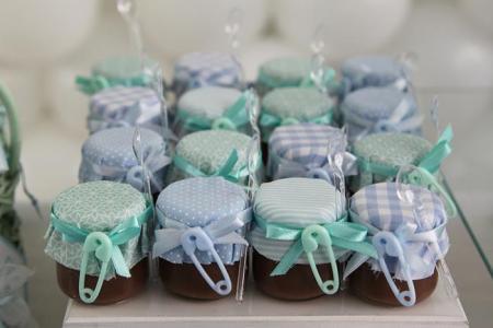 lembrancinhas chá de bebê brigadeiro de pote