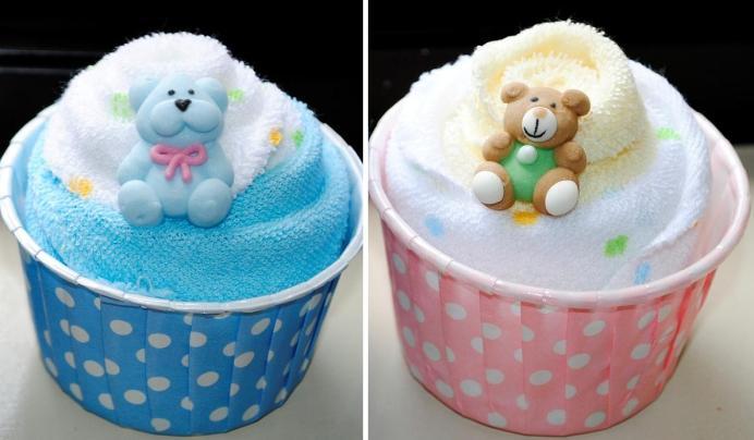 lembrancinhas chá de bebê toalhinha