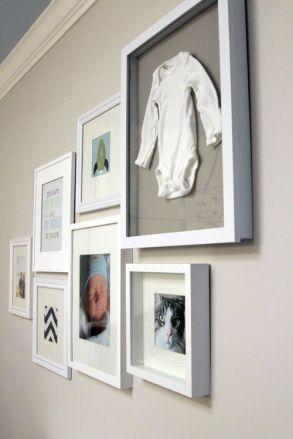 quadro para quarto de bebê memórias