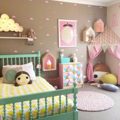 quarto de menina estiloso