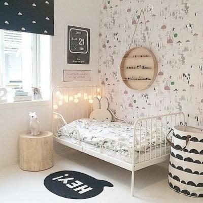 quarto de menina papel de parede