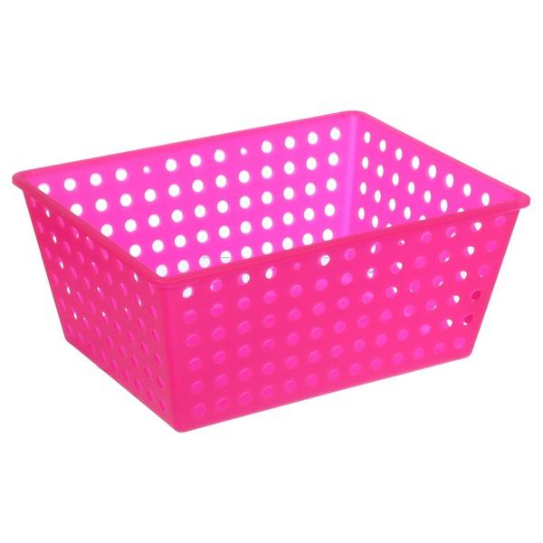 quarto infantil organizador de brinquedos rosa