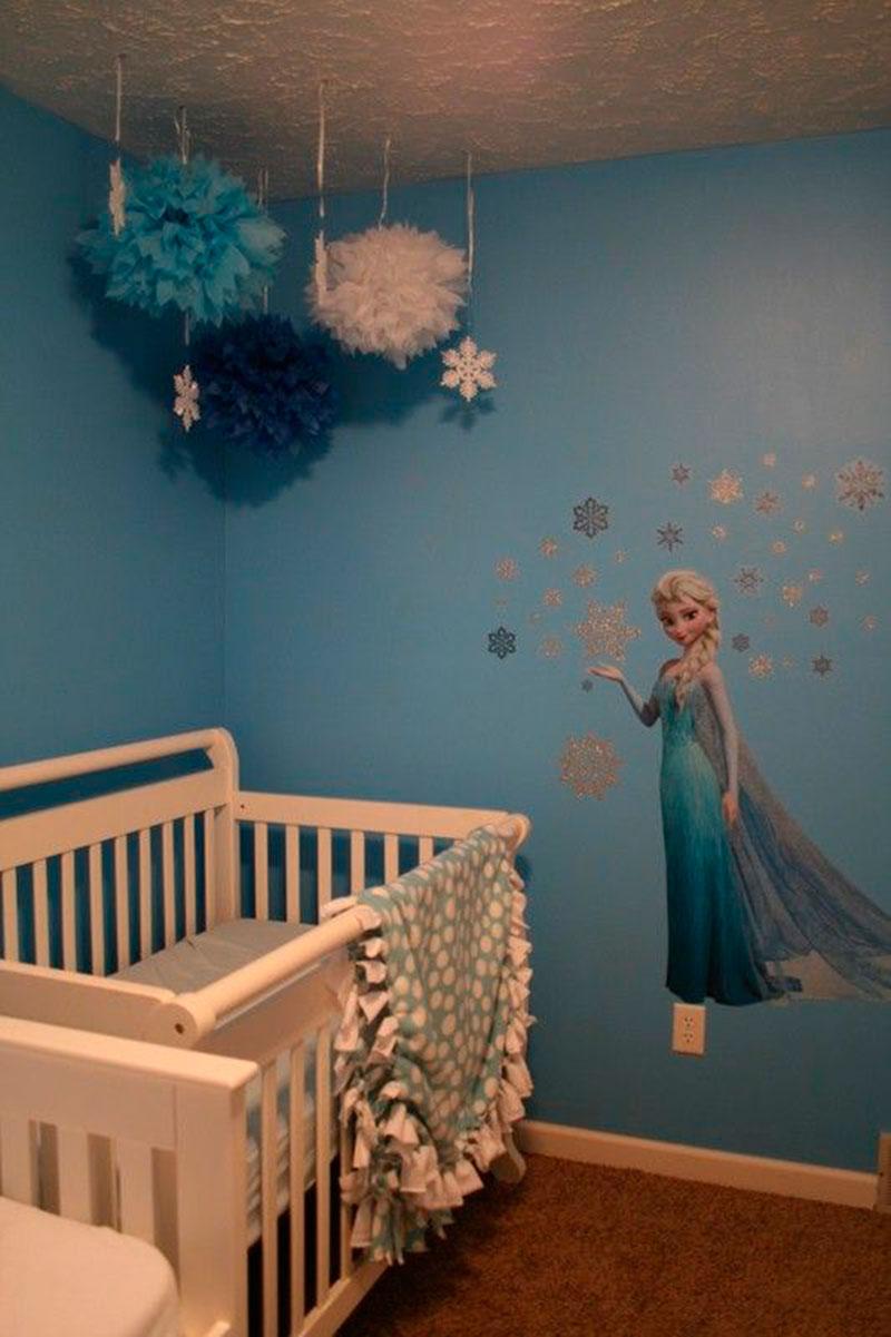 Fa A Uma Decora O De Quarto Infantil Especial Com O Tema Frozen ~ Decoração De Quarto Reciclar E Como Mobiliar Um Quarto