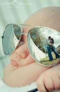 dicas para tirar fotos mãe e filhos óculos
