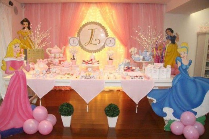 6 ideias para uma festa infantil princesas de arrasar - Decoracion fiesta princesas disney ...