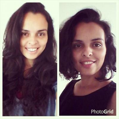 maternidade insana cabelo antes e depois