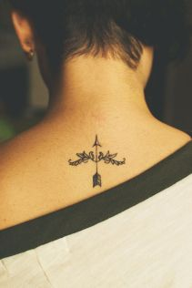 tatuagens para filhos flecha