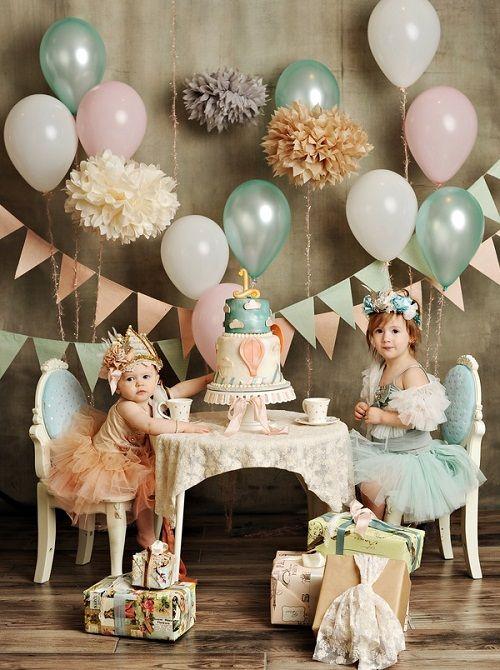 festa infantil chá de bonecas bolos