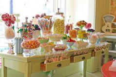 festa infantil mesa de doces completa