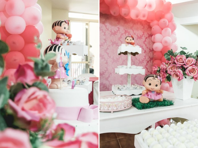 festa infantil turma da mônica bebê bolo