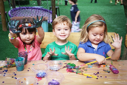 festa-de-aniversario-Oficina de pintura kids - foto reprod internet