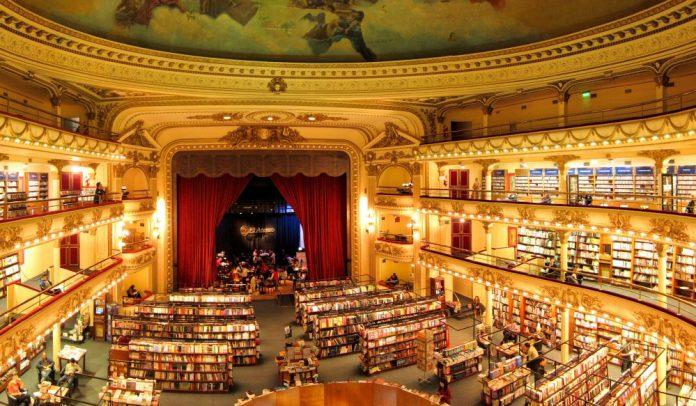 livraria-El-Ateneo-buenos-aires-com-crianças