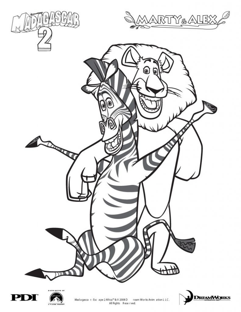 desenhos-para-colorir-madagascar-marty-alex-791x1024