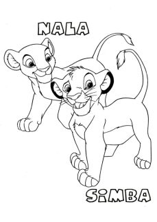 desenhos-para-colorir-rei-leao-nala-simba-724x1024