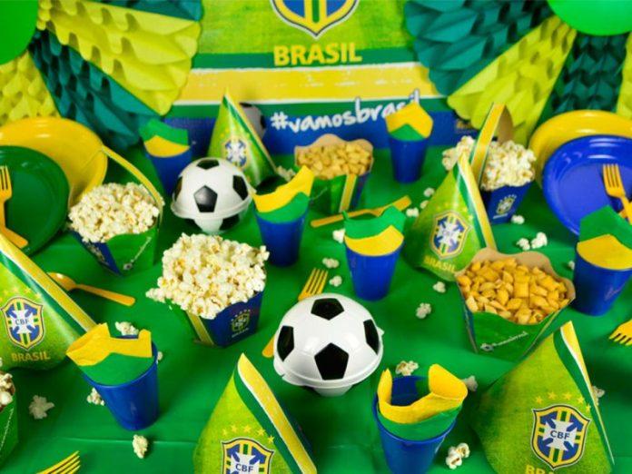Decoração Festa Infantil tema Copa do Mundo