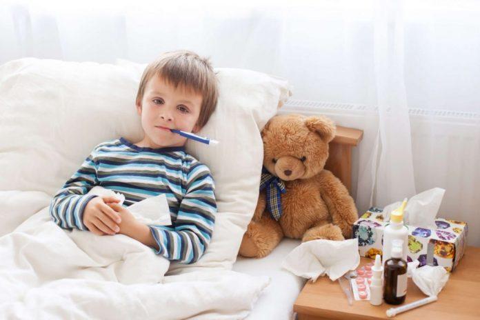doenças de inverno, cuidados com a saúde das crianças