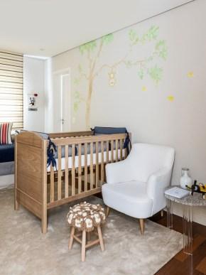 quarto de bebê safari