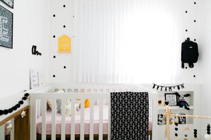 quarto infantil estilo escandinavo