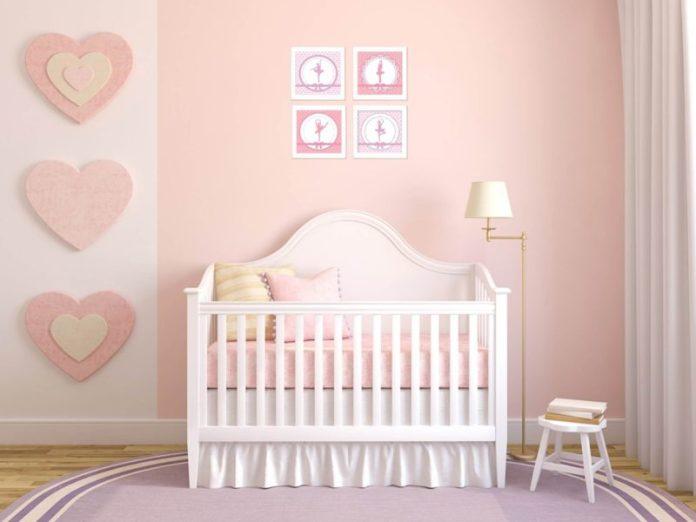 dicas para decorar um quarto de bebê com tema bailarina