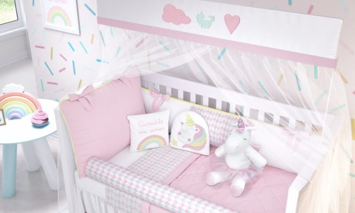dicas de coração para quarto de bebê menina