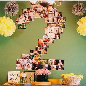 Ideias de decoração para mesversário