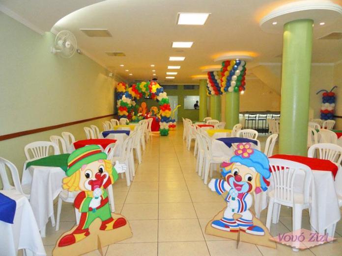 decoração festa patati patatá