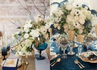 Blue And White Wedding Table Settings & Cool Wedding Table ...